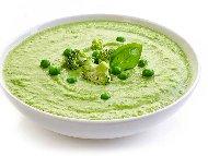 Рецепта Зеленчукова крем супа от броколи, картофи, моркови и грах